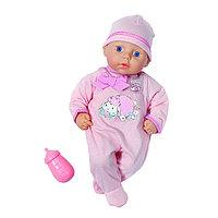 Кукла с бутылочкой, 36 см, фото 1