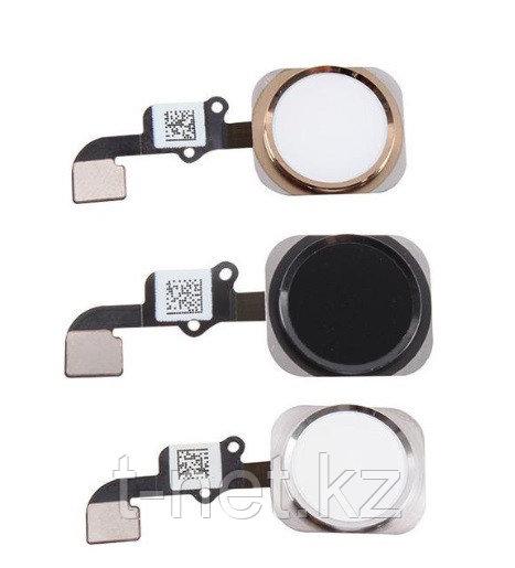 Шлейф Apple iPhone 6G, кнопка домой, цвет черный, белый, голд - фото 2