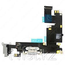 Шлейф Apple iPhone 6 Plus, для зарядки с микрофоном и наушник - фото 1