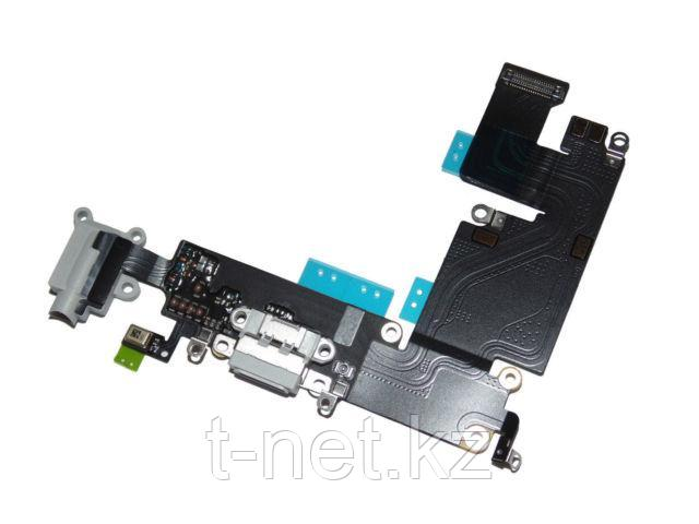 Шлейф Apple iPhone 6 Plus, для зарядки с микрофоном и наушник - фото 3