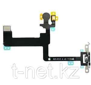 Шлейф Apple iPhone 6 Plus, на кнопку включения с микрофоном - фото 2