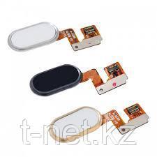 Шлейф Meizu m3 note, кнопка домой, цвет черный, белый
