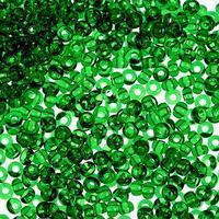 Бисер 'GAMMA' круглый 10/0 (В110 т. зеленый) (комплект из 10 шт.)