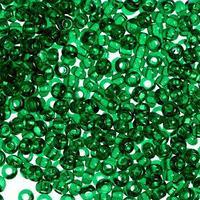 Бисер 'GAMMA' круглый 10/0 (В108 зелёный) (комплект из 10 шт.)
