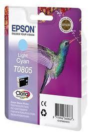 Картридж Epson C13T08054011 P50/PX660 светло-голубой, фото 2