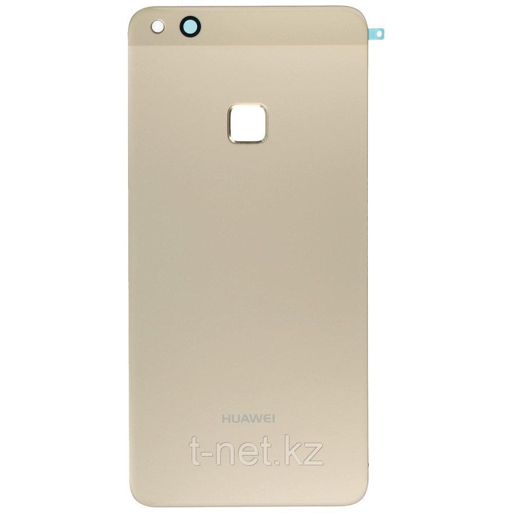 Задняя Крышка Huawei P10 Lite/ WAS-LX1, цвет черный, золотой