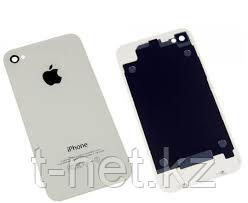 Задняя Крышка Iphone 4s, цвет черный, белый