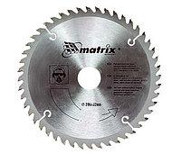 Диск пильный по дереву 255*32 зуб 96 + кольцо 30/32. Matrix Professional