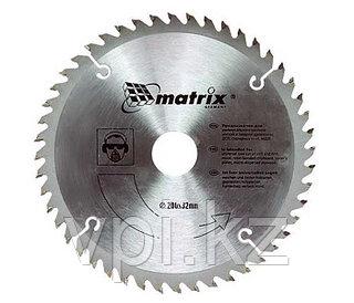 Диск пильный  по дереву  250*32 зуб 24 + кольцо 30/32 Matrix Professional