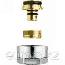 FEM24M16X2 - компрессионные фитинги для металлопластиковых труб. М24х19 - 16х2мм