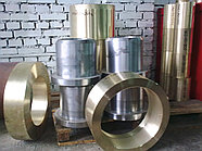 Втулка бронзовая 109 мм броцс5-5-5 центробежное литье ГОСТ