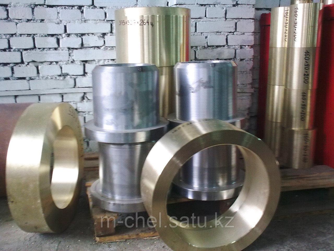 Втулка бронзовая 65 мм броцс5-5-5 центробежное литье ГОСТ