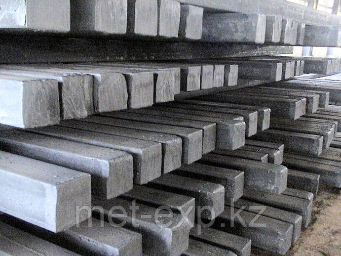 Квадрат стальной 380 х 380 мм 45ХН2МФА ГОСТ 2591-30600 РЕЗКА в размер ДОСТАВКА