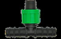 Тройник ёрш проходной 16х17х16 мм для капельной ленты