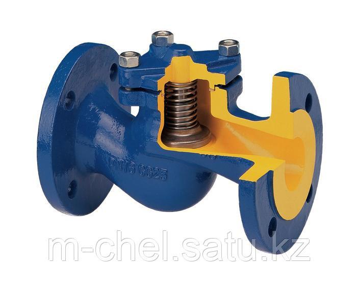 Клапан обратный латунный Ду80 19Б1нж Ру25