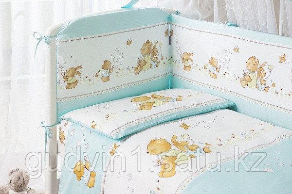PERINA Комплект в кровать 3 предметов ФЕЯ ЛЕТО Голубой Ф3-01.4