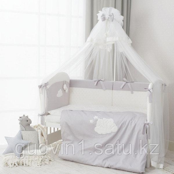 PERINA Комплект в кровать 3 предмета  Бамбино грей | ББ-01.2