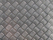Лист рифленый 0,5 мм ст3пс5 квинтет РОМБ чечевица