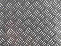 Лист рифленый 1,8 мм 09Г2С ГОСТ 14918-81 РЕЗКА в размер ДОСТАВКА