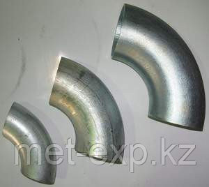 Отвод оцинкованный Ду325х8 х  ст.20 17г1с 12х18н10т крутоизогнутый стальной