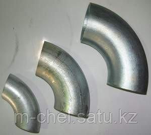 Отвод оцинкованный Ду377х10 х  ст.20 17г1с 12х18н10т крутоизогнутый стальной