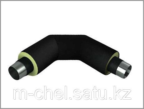 Отвод ППУ полиэтилен скорлупа оцинкованная от 32 до 1020 мм
