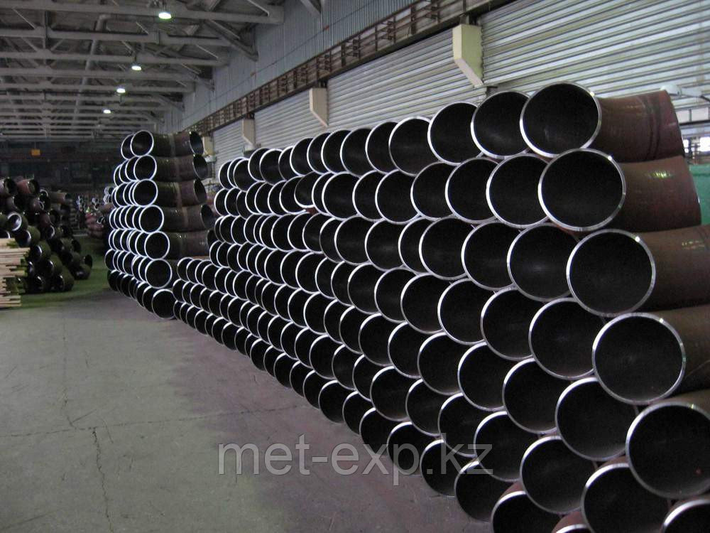 Отвод стальной Ду76х3.5 х  ст.20 17г1с 12х18н10т крутоизогнутый стальной