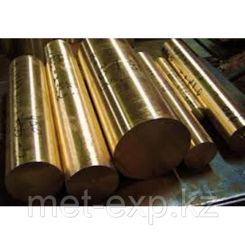 Пруток бронзовый 7 БрАЖ 9-3Л ГОСТ РЕЗКА в размер ДОСТАВКА