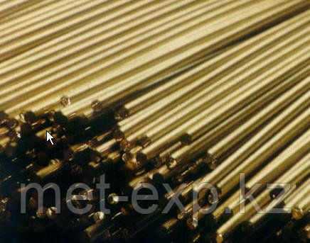 Пруток латунный 20 ЛМц58-2 ГОСТ РЕЗКА в размер ДОСТАВКА