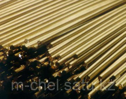 Пруток латунный 35 ЛЖМц59-1-1 ГОСТ РЕЗКА в размер ДОСТАВКА