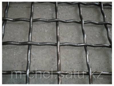 Сетка металлическая рифленая 64 мм х23ю5т пр-во Россия от 1 кв.м.
