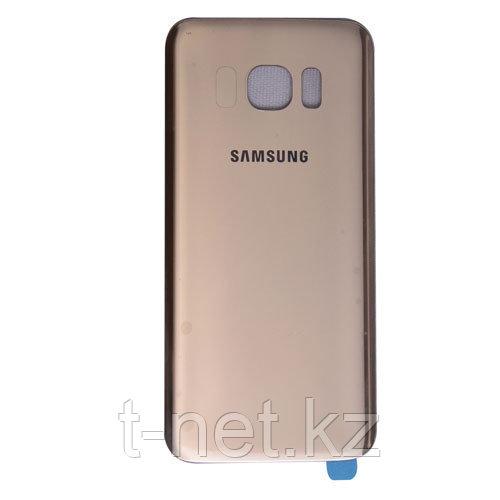 Задняя Крышка Samsung S7 edge, цвет Gold, Blue