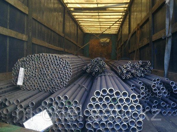Труба толстостенная стальная 408 мм AISI 316L ТУ 1317-233-00147016-05 немерная длина от 4 до 12 метров Литая