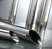 Труба нержавеющая 204 мм AISI 305 ТУ 14-3Р-57-2007 горячекатаная