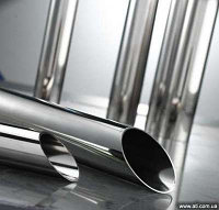 Труба нержавеющая 219,1 мм 08Х17Н13М2 ГОСТ 8639-88 холоднотянутая