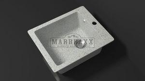 Мойка кухонная Marbaxx Линди Z8 светло серый