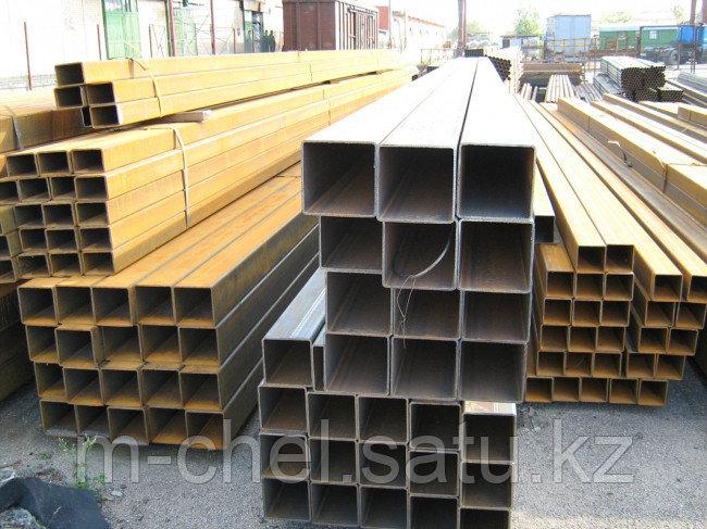 Труба профильная стальная 350 х 150 мм 17Г1СУ ГОСТ 30245-11 пр-во ММК РЕЗКА в размер ДОСТАВКА