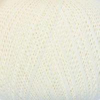 Нитки вязальные 'Лилия' 440м/75гр 100 хлопок цвет 0101 (комплект из 6 шт.)