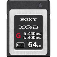 Карта памяти Sony XQD64GB G серия 64 Гб 400 Mb/s, фото 1