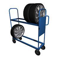 Стеллаж для хранения автомобильных колес СДШ