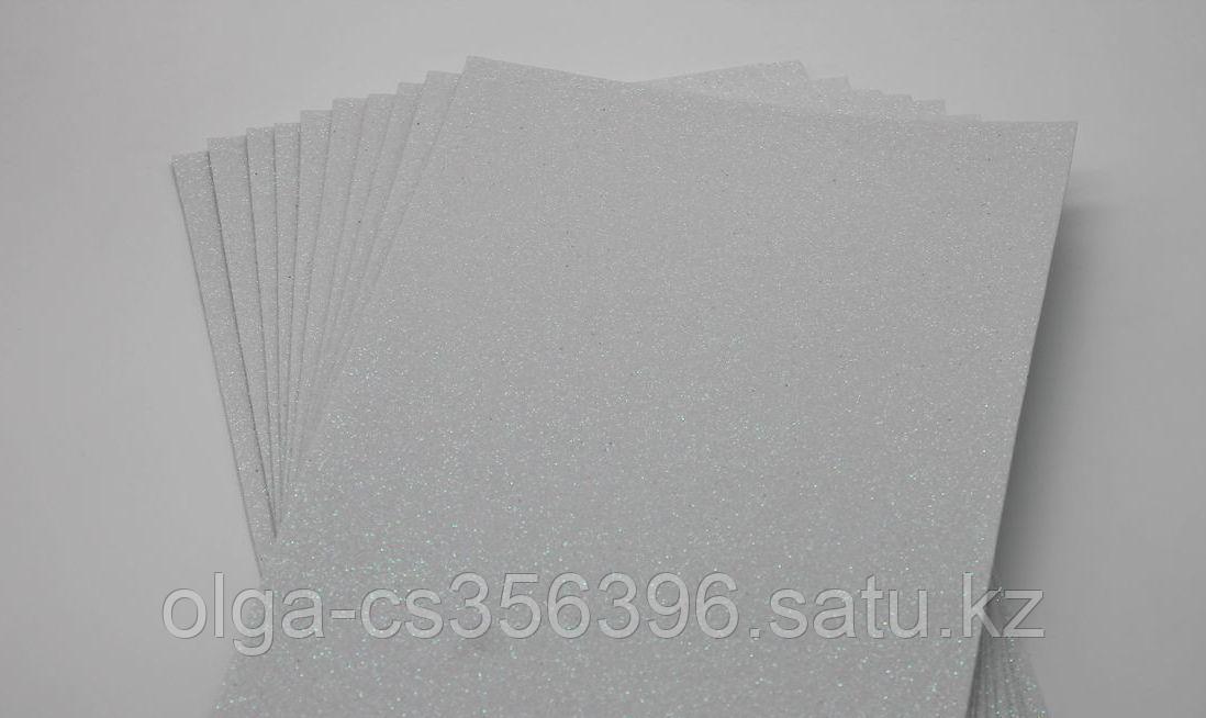 Фоамиран глиттерный.  Creativ 2219