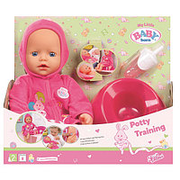 Кукла быстросохнущая с горшком и бутылочкой, фото 1