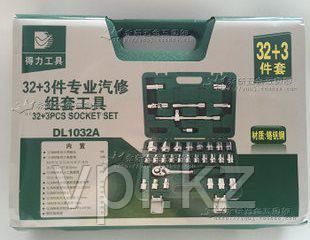 Набор инструментов автомобильных, 35пр. 1032А  De&Li