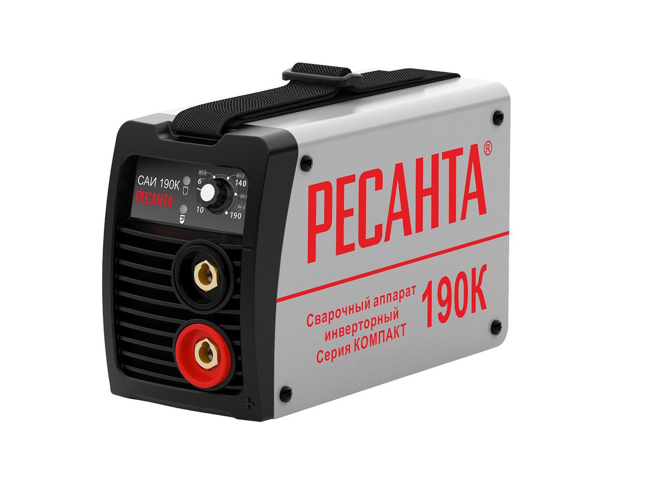 Сварочный аппарат инверторный Ресанта САИ190К