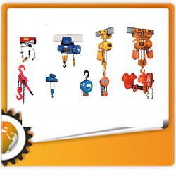 Грузоподъемное оборудование (тали, лебедки, домкраты, тележки)