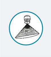 Форсунка с факелом распыла «полый конус», Ø 2 мм, с распыляющей насадкой, тип форсунки G-H 116-80, фото 1
