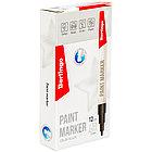 Маркер-краска Berlingo 2 мм черный цвет, нитро-основа, фото 3