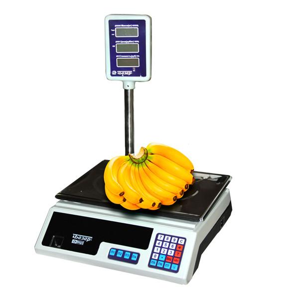 """Весы торговые """"Базар"""" до 15 кг."""