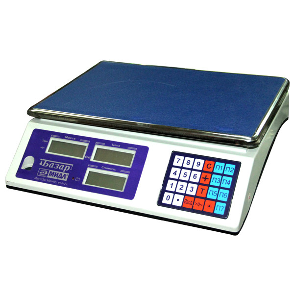"""Весы торговые """"Базар 2"""" до 15 кг."""