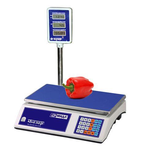 """Весы торговые """"Базар 2.1"""" до 6 кг."""